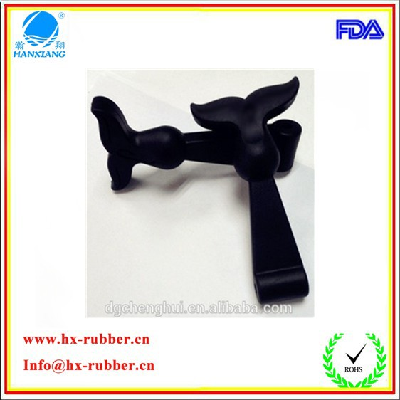 2015 China suplier customize high quality T shape rubber latch / tool box latch