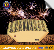"Alibaba express 100S Display Cake 1.2"" fireworks"