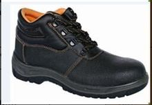 2017 emboss cow split leather industrial steel toes safety shoes bata industrial safety shoes