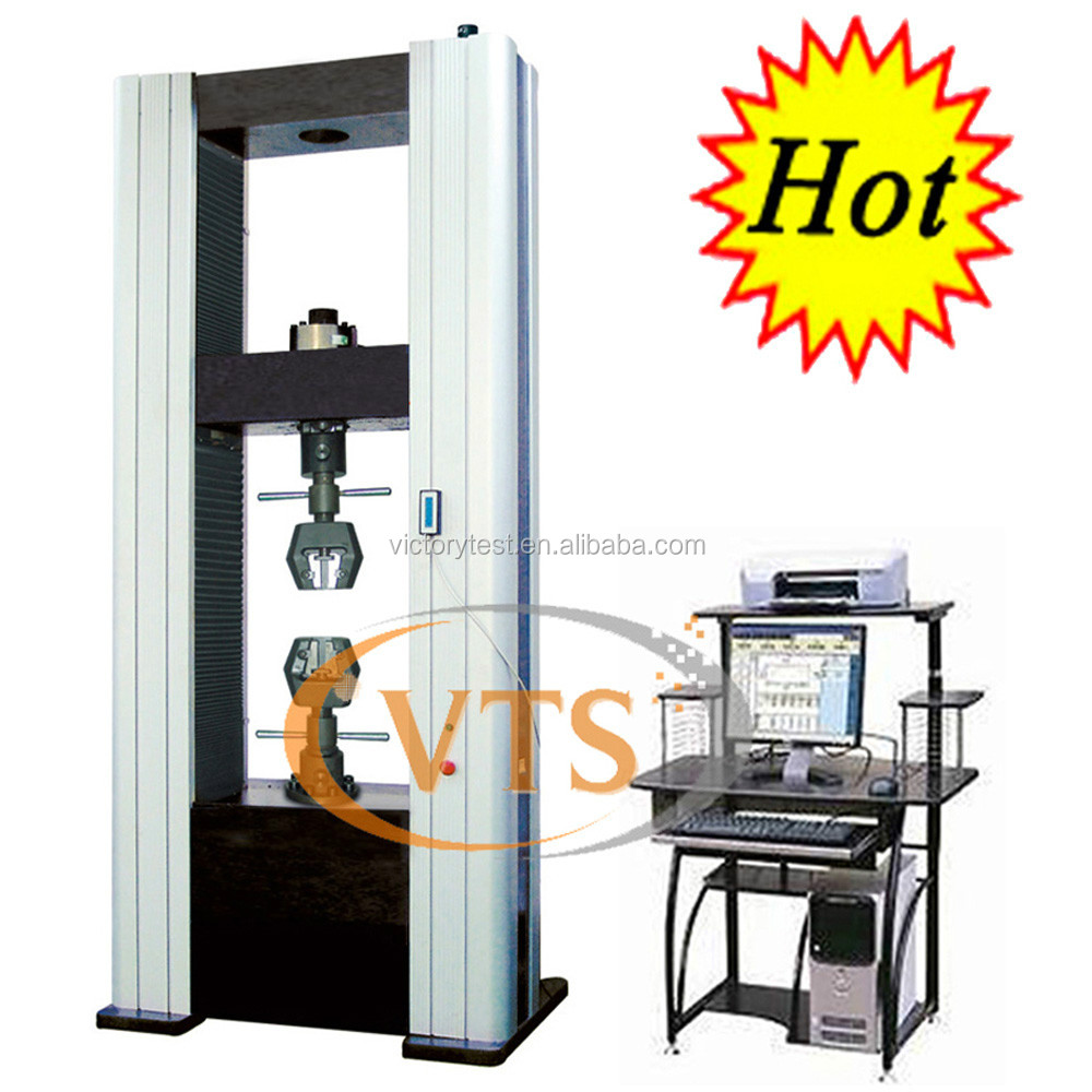 300kN 200kN Eletromechanical Universal Testing machine 200kN with Manual tension grip clamp