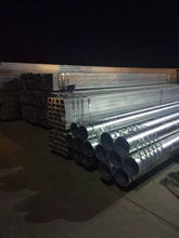 BS 1387 Galvanized Steel Pipe high Product Properties