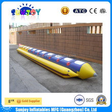 Cheap Summer Water Sports Inflatable Banana Boat for Sale