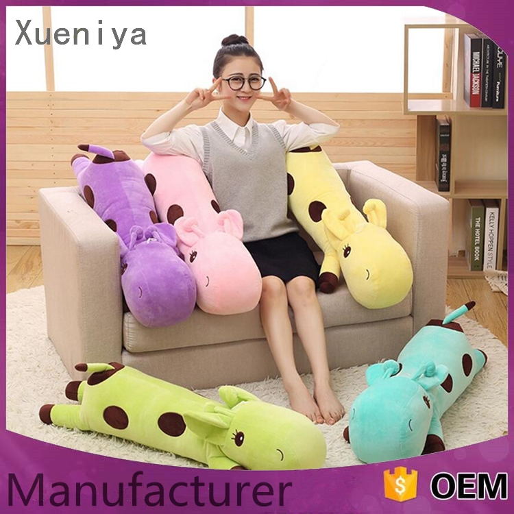 2016 new design promotional lovely soft pillow animal toy
