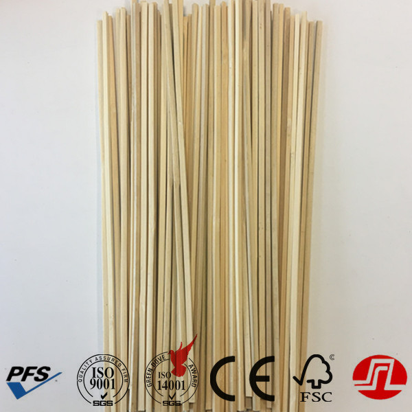 4mm bamboo flat sticks with good quality and cheap price