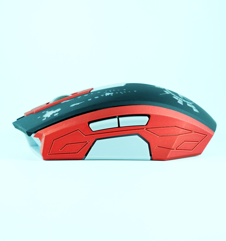 Most Popular Newest Design 6D Adjestable High Dpi Usb Wired Optical Gaming Mouse GM-828 with OEM/ODM/Custom Services