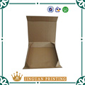 Wholesale shopping packaging high quality corrugated custom printing logo kraft paper box