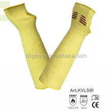 Cut level 5 aramid arm sleeves for hand protection, cut resistant sleeves