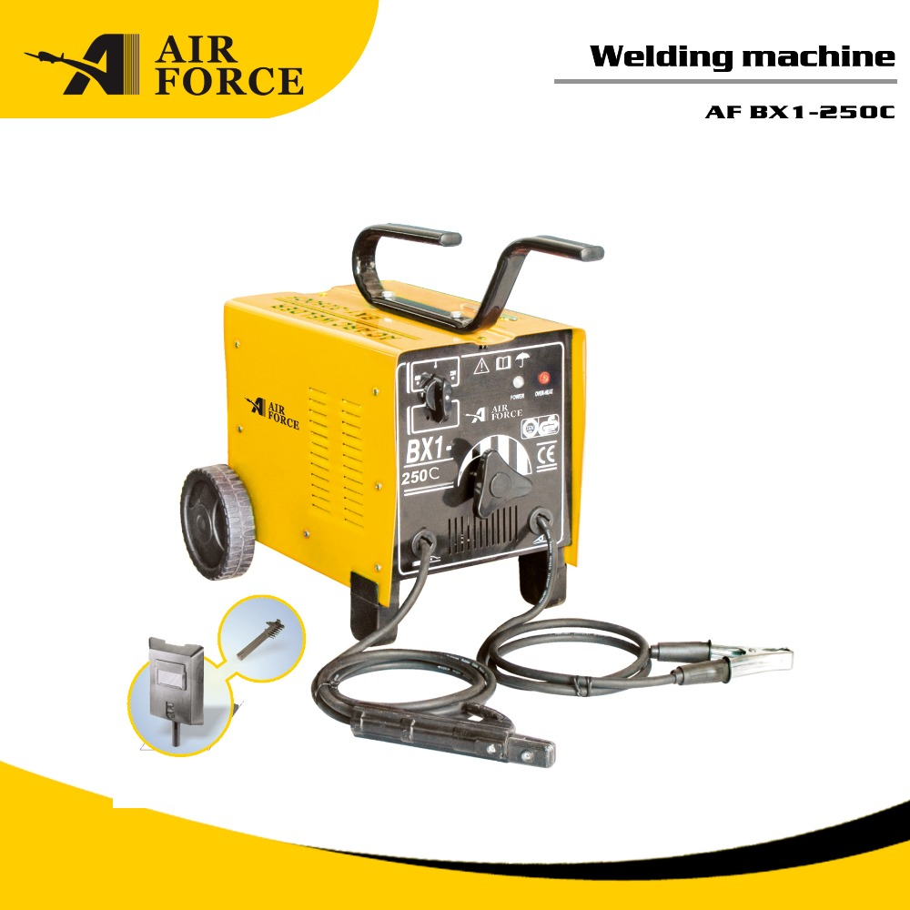 Top quality industrial bx1-250c1 series arc welder