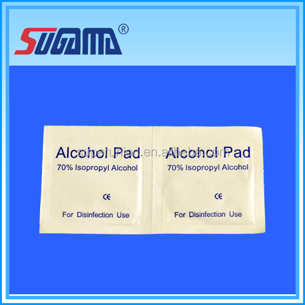 Free sample direct sale gauze quality alcohol pad