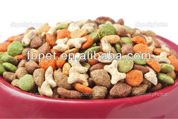 Holistic croquettes dry dog food
