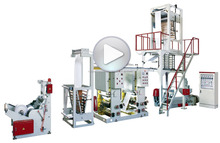 Film Blowing extrusion and & gravure Presses Printing Machine Production Line connect to plastic bags printing machine