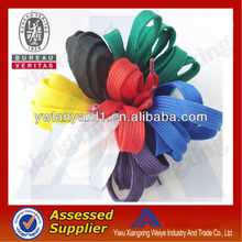 Chinese manufacturer all different cheap custom curly shoelaces