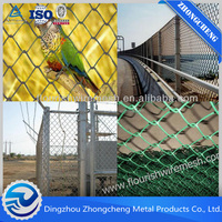 China factory Galvanized Chain Link Fence for sale/ PVC Coated Chain Link Fence/ Fencing Wire