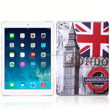 2015 flower for ipad air hard back cover case manufacturers in china