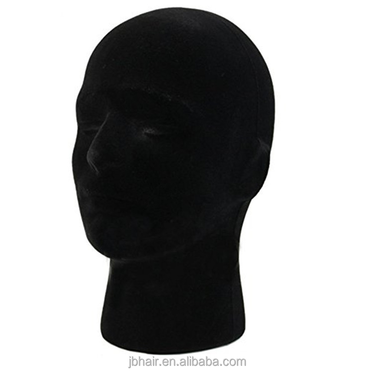 Styrofoam wig head, EPS mannequin Display female Male Foam Model Manikin wig Head wholsale