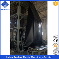 3 layer blown coextrusion waterproofing hdpe liners geomembrane machine