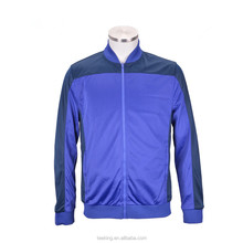 Bulk wholesale mens two color 100%polyester sport jacket