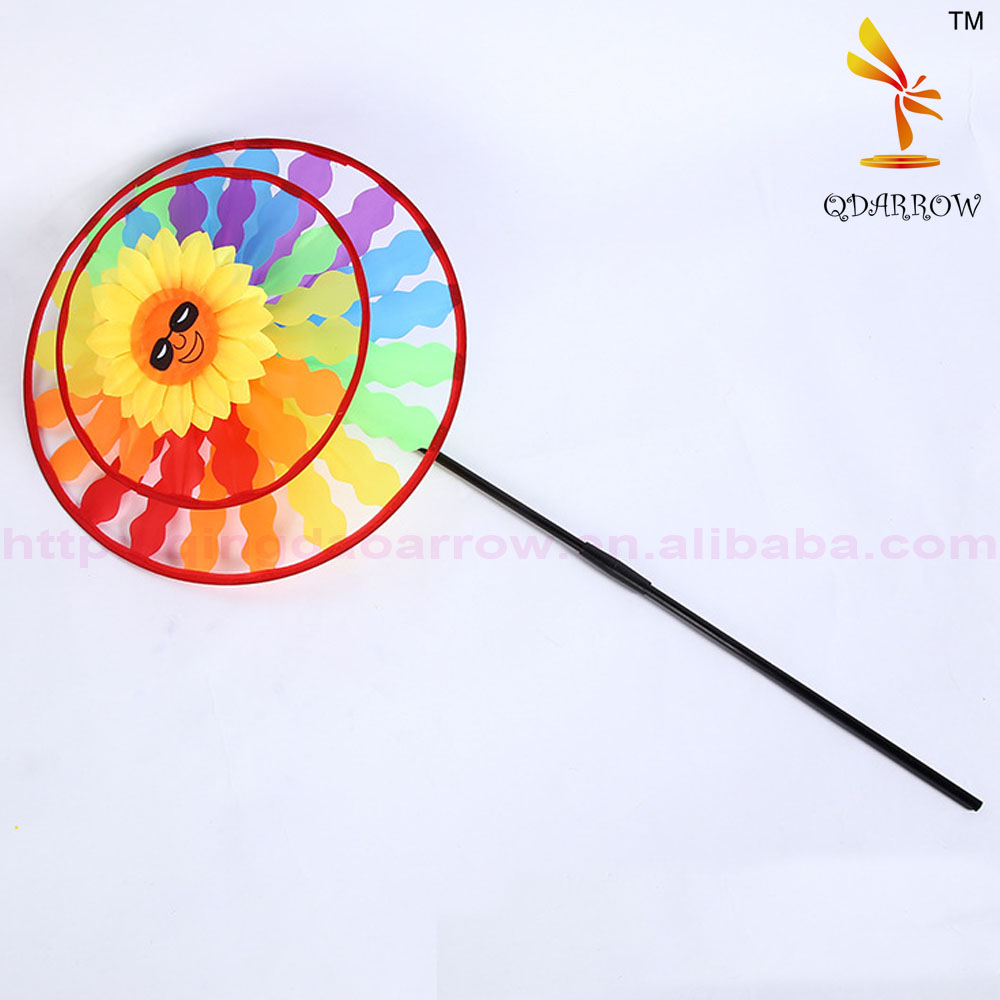 Round-Shaped Windmill For Kids