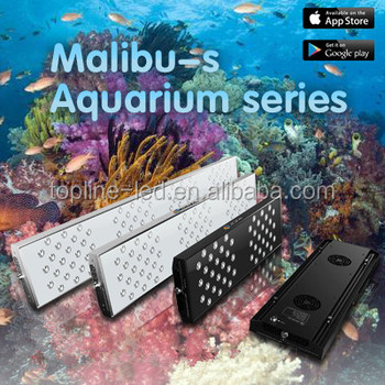 2015 latest product Malibu S Plus Series CE listed programmable 300W dimmable led aquarium light