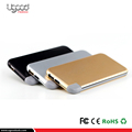 Innovative products wireless metal power bank with charger cable