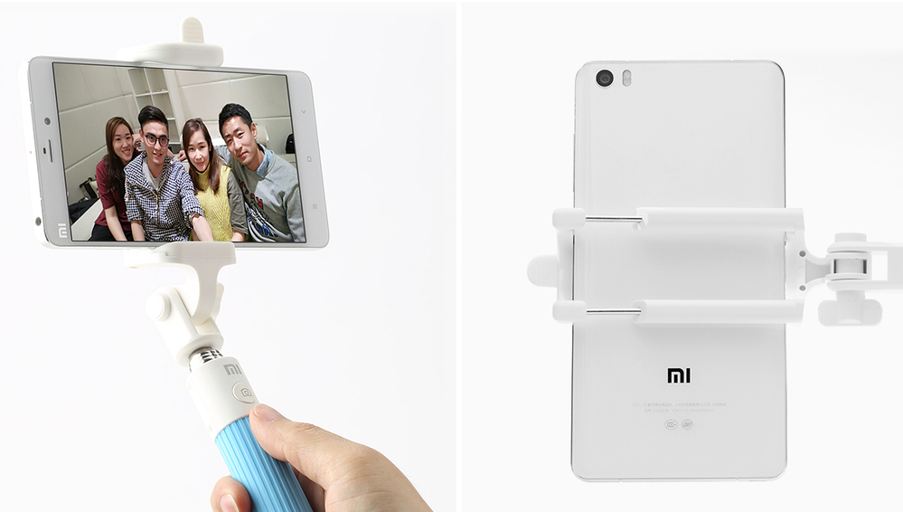Original Xiaomi Selfie Sticker for mobile phone Holder Extendable Handheld Bluetooth Shutter for Mobile phone