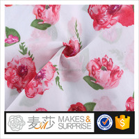 Floral design 100%cotton voile woven printed fabric China Supplier,stocklot fabric in china