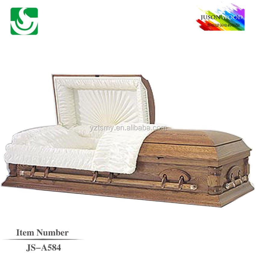 interior decoration funeral wood casket price