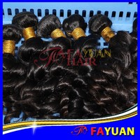 Factory price grade 6A full cuticle thick end no frizzy single drawn 300g virgin south american hair