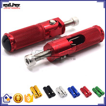 BJ-FP-001Highly Recommended Foldable Universal CNC Billet Aluminum Motorcycle Rearset Foot Pegs