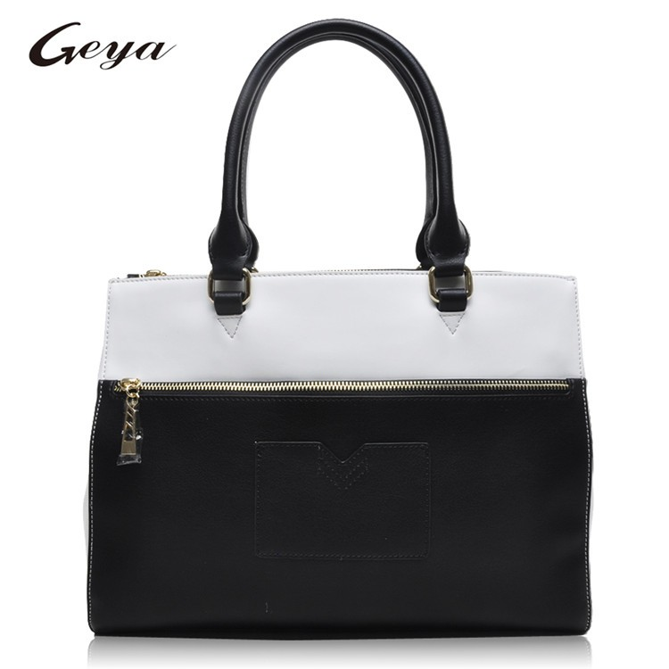 Latest Design Tote bag Small quantity order leather hand bag fashion lady bags OEM Manufacturer