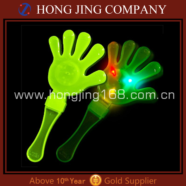 Wholesale Light Up led Flashing Hand Clapper