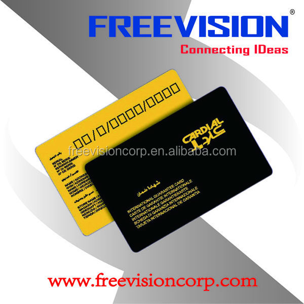 contactless rfid proximity card 125khz read/write programmable