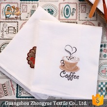Wholesale cute cotton jacquard wedding napkin for coffee shop