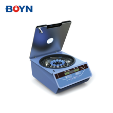 LCD screen displays high safety&low noise medical blood plasma low speed centrifuge with DC brushless motor