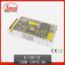 120W 12V 10A LED Driver Non-Waterproof S-120-12