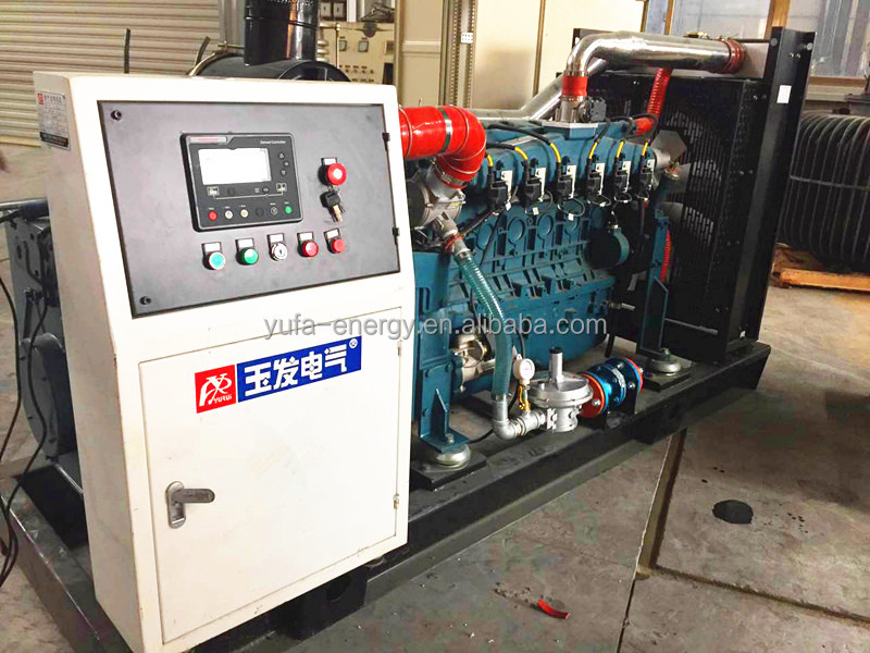 Yufa 120KW 150KVA Natural gas generator set for sale
