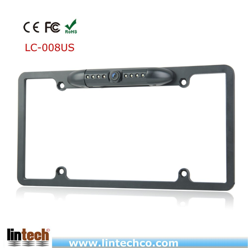 IP68 Sharp CCD license plate infared reversing camera