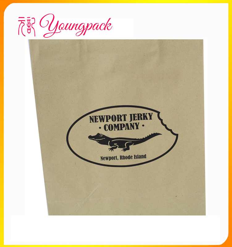 recyclable high quality small brown paper bag