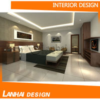 Modern Bedroom Furniture Residential Interior Design