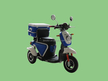 adult 500w 60v newly designed electric delivery tricycle