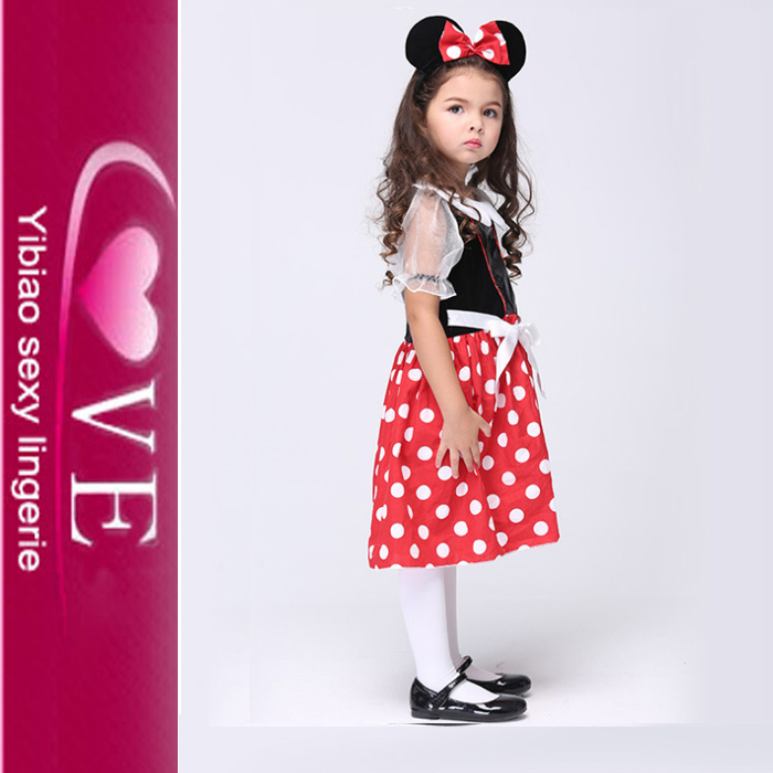 Carnival Halloween Party Little Mouse Dress Kids Costumes