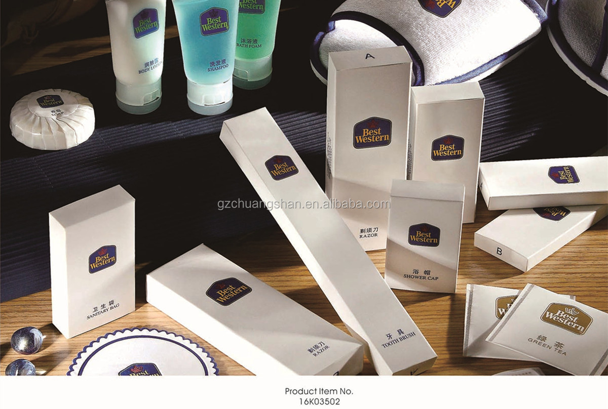 Deluxe Amenities Hotel Consumables