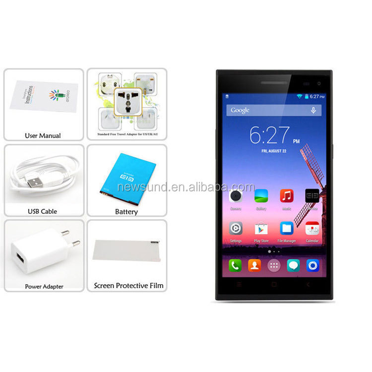 cell phone Elephone P2000 16GB,5.5 inch 3G Android 4.4.2 IPS Screen Phablet, MediaTek MT6592 jiayu s3 alibaba express italy