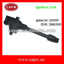 Ignition Coil for Nissans Maxima/Sunny/Teana A32 VQ25/VQ30 22448-31U01 Car Spare Parts