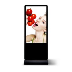 43inch new Indoor hd advertising network interactive computer advertisement with photobooth