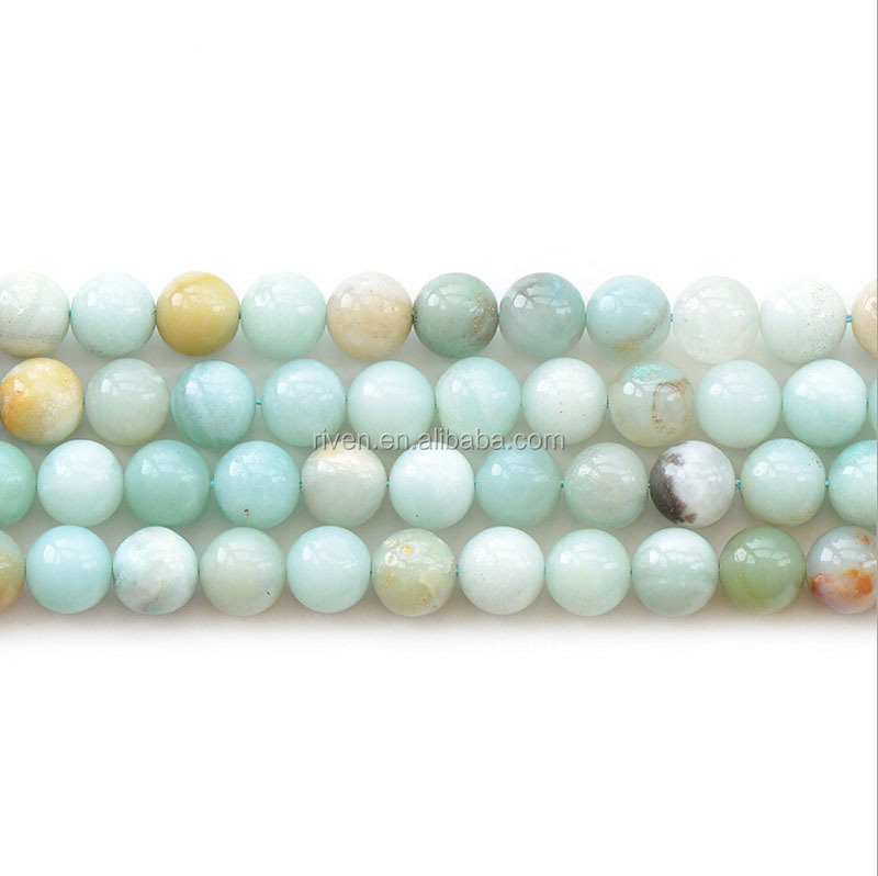NB0033 Natural Stone Bead 4mm 6mm 8mm 10mm loose bead amazonite stone
