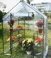 Walk in pvc garden greenhouse