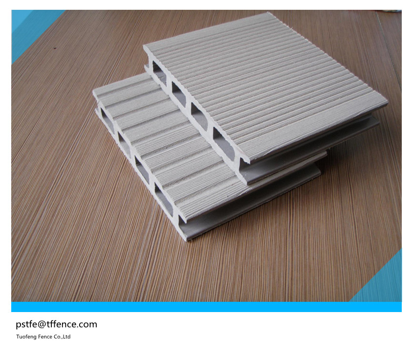 2016 new design high quality outdoor wpc decking