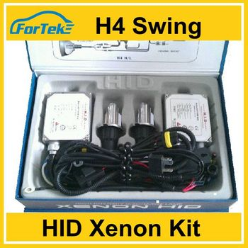 sale hi/low beam H4 swing car Hid lights xenon kit