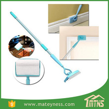 New Extendable Microfiber cleaning stick cleaning brush Baseboard Buddy